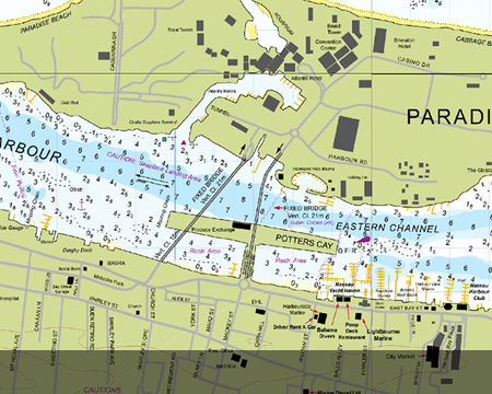 C-MAP 4D Max + Raster Charts | Raymarine Cartography
